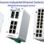 Korenix Industrial Ethernet Switch-DIN-Rail Unmanaged Switch