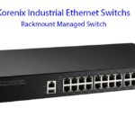 Korenix Industrial Ethernet Switch-Rach Mount Managed Switch
